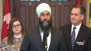 Jagmeet Singh says NDP would cap costs of cellphone, internet plans
