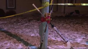Memorial grows outside scene of apparent murder-suicide in Spruce Grove
