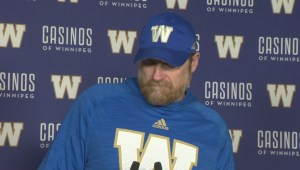 RAW: Blue Bombers Mike O'Shea Media Briefing – Oct. 30