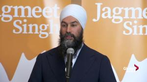 Jagmeet Singh says he was 'disappointed' by Trudeau's address on SNC-Lavalin