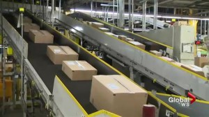 Package overload makes Canada Post jolly busy