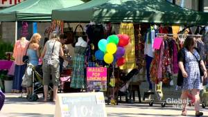 Downtown Saskatoon preparing for Second Avenue sidewalk sale