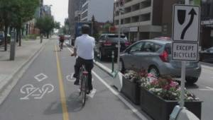 Downtown Edmonton a step closer to bike lanes