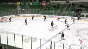 Saskatchewan Huskies women's hockey team goalie quietly confident