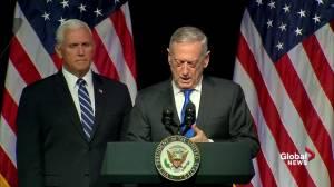 Space becoming 'war-fighting' domain, Mattis says