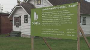 Public opposition forces surprise cancelation of proposed Surrey supportive housing project