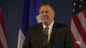 Pompeo warns of Russia, China activities in Arctic, says Canada's claim over Northwest Passage 'illegitimate'