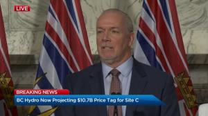 "Decision to go ahead with Site C dam is making ""better of a bad situation:"" B.C. Premier"