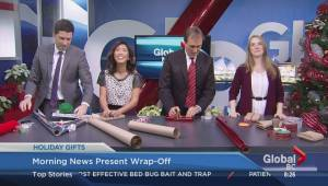 Morning Show Christmas gift wrap-off
