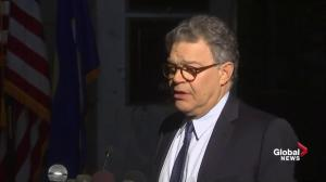 Sen. Al Franken says men must 'respect' the experiences of women
