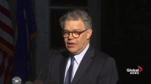 Reflective Sen. Al Franken trying to learn from his mistakes