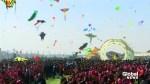 Over 45 countries participate in India's vibrant kite festival