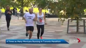 Mexican marathon runners say Canada is a welcoming place to run