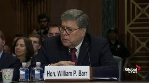 Barr says he won't recuse himself from investigations that spawned from Mueller report