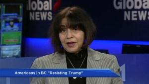 Americans in B.C. organize to resist Trump