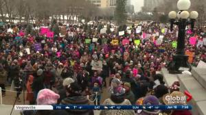 March On: Edmonton Women's March boosted by #MeToo and #TimesUp