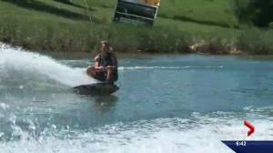 Wakeboarder making a splash in Edmonton this weekend