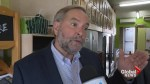 Mulcair calls on Trudeau to address GMO labeling: Canadians deserve to know what's on their plate