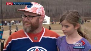 Young Fort McMurray girl excited for new home with secret passageway