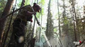 Weather a concern Tuesday for Alberta firefighters near High Level