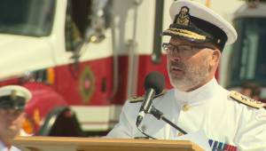 Royal Canadian Navy welcomes new commander of its East Coast fleet
