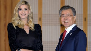Ivanka Trump given clearance to brief South Korea on U.S. sanctions against the North