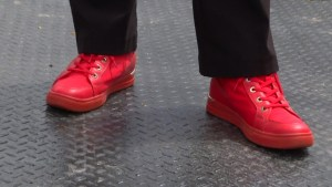 Walk a Mile in Her Shoes held in Peterborough