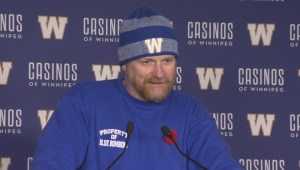 RAW: Blue Bombers Mike O'Shea Media Briefing – Nov. 8