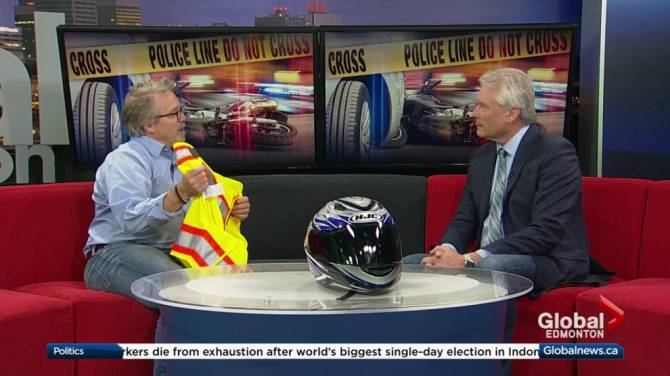 Safety stressed at Edmonton motorcycle event: 'Wear your