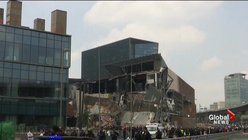 Mexico officials: roof garden may have caused mall collapse