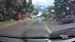 Man fired after splashing pedestrians in his work truck