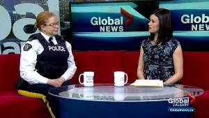 Airdrie RCMP host second monthly Mochas with Mounties event (04:12)
