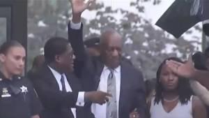 Mistrial declared in Bill Cosby case as jurors deadlocked