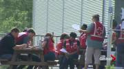 Play video: Red Cross in Lacolle