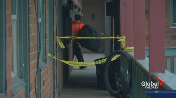 Police Investigate Shooting At Montgomery Motel Calgary