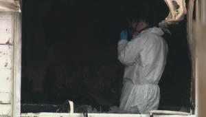 Man's body found after suspicious fire near Edmonton Exhibition Lands