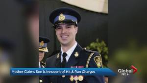 Mother of Brampton man accused of injuring OPP officer claims he's innocent (02:06)