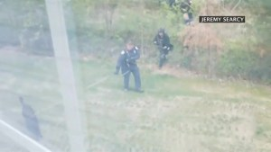 'They're in our yard': Nashville resident films police searching for Waffle House shooter