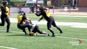 Saskatoon Valkyries beat Winnipeg Wolfpack 66-0 in WWCFL quarter-finals