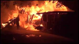 Garage fire in Hamilton Township deemed suspicious