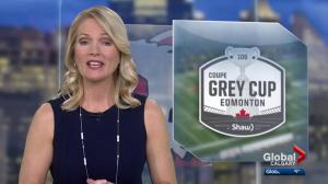 The big game is still a few days away but Grey Cup celebrations were well underway Thursday