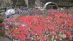 Thousands attend peace rally in Seoul, South Korea