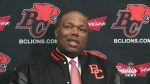 Introducing BC Lions new coach Devone Claybrooks