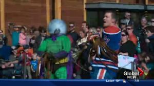 SpiderMable appears on Global Edmonton Morning News