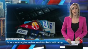 B.C. woman struggles to clear fraudulent bad credit rating
