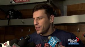 Oilers' Lucic says Hitchcock has encouraged him
