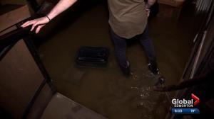 Downtown Edmonton bar destroyed by water main break