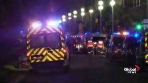 Raw video: aftermath of truck driving into crowd in France