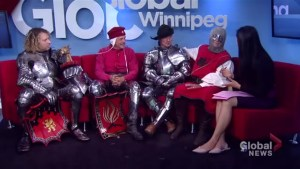 Knights offer jousting insights ahead of Medieval Festival in Cooks Creek, Manitoba