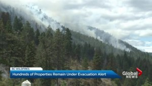 Small relief, but risk not over as wildfires rage in British Columbia